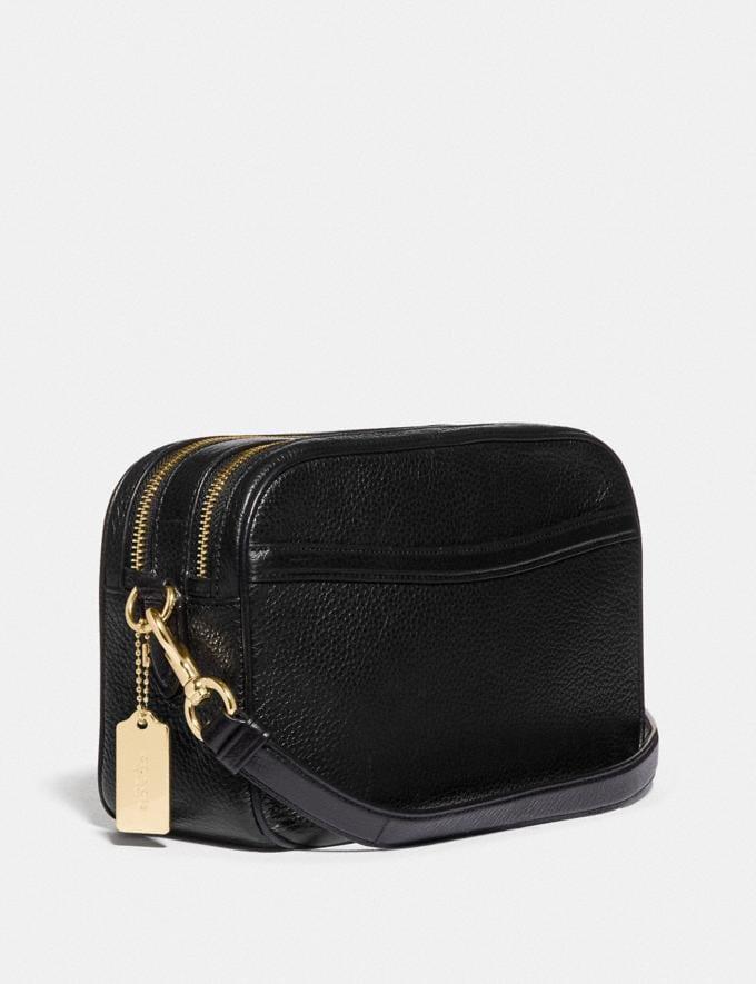 Coach Jes Crossbody Black/Light Gold Bags Bags Crossbody Bags Alternate View 1