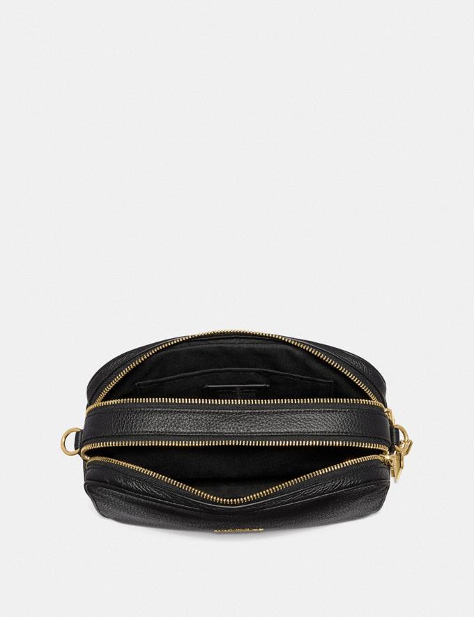 Coach Jes Crossbody Black/Light Gold Bags Bags Crossbody Bags Alternate View 2