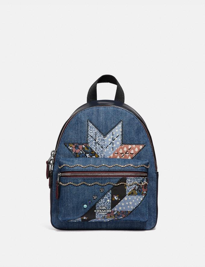 MINI CHARLIE BACKPACK WITH STAR PATCHWORK