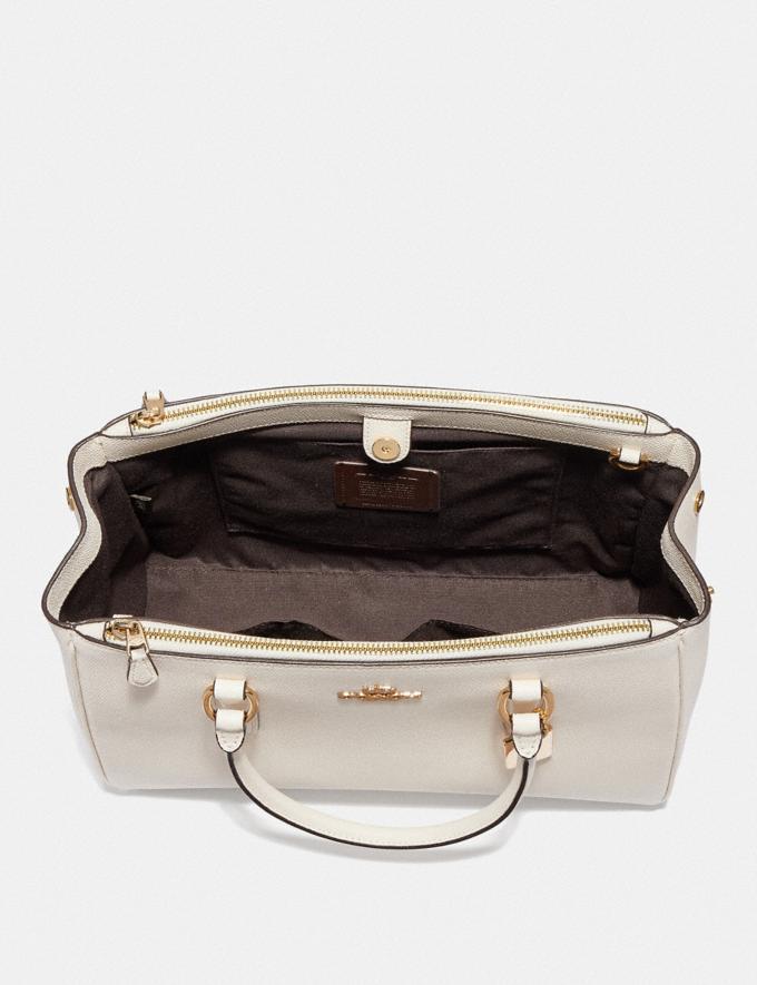 Coach Large Surrey Carryall Black/Imitation Gold Explore Bags Bags Business Bags Alternate View 2