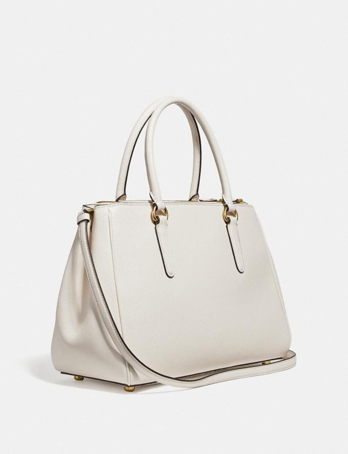 Coach Surrey Carryall Chalk/Imitation Gold  Alternate View 1