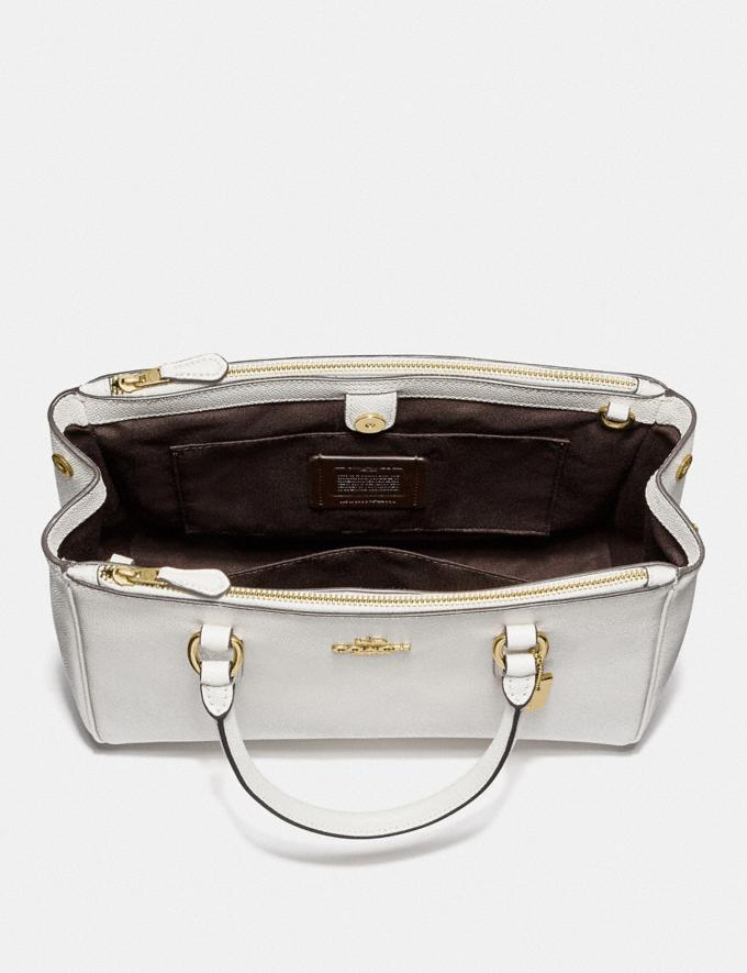 Coach Surrey Carryall Chalk/Imitation Gold  Alternate View 2