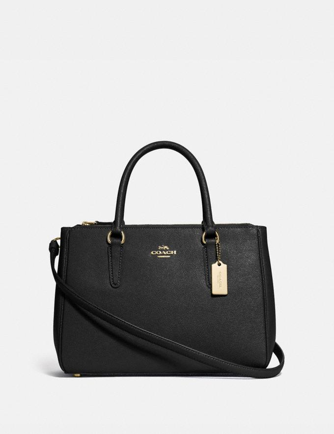 Coach Surrey Carryall Black/Imitation Gold