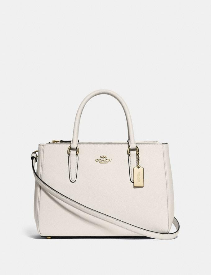 Coach Surrey Carryall Chalk/Imitation Gold