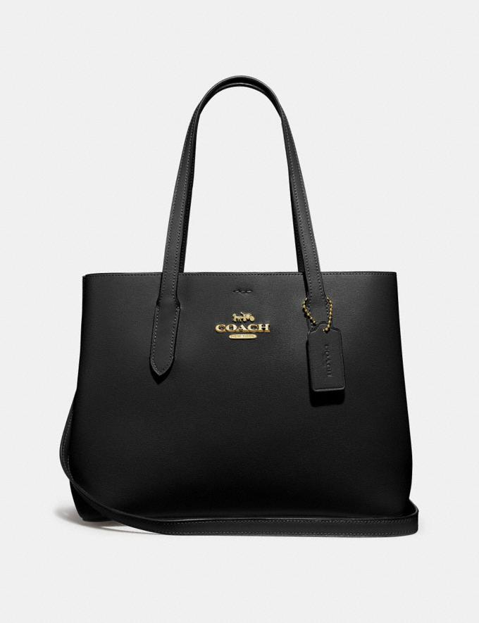 Coach Avenue Carryall Black/Red/Imitation Gold Explore Bags Bags Business Bags
