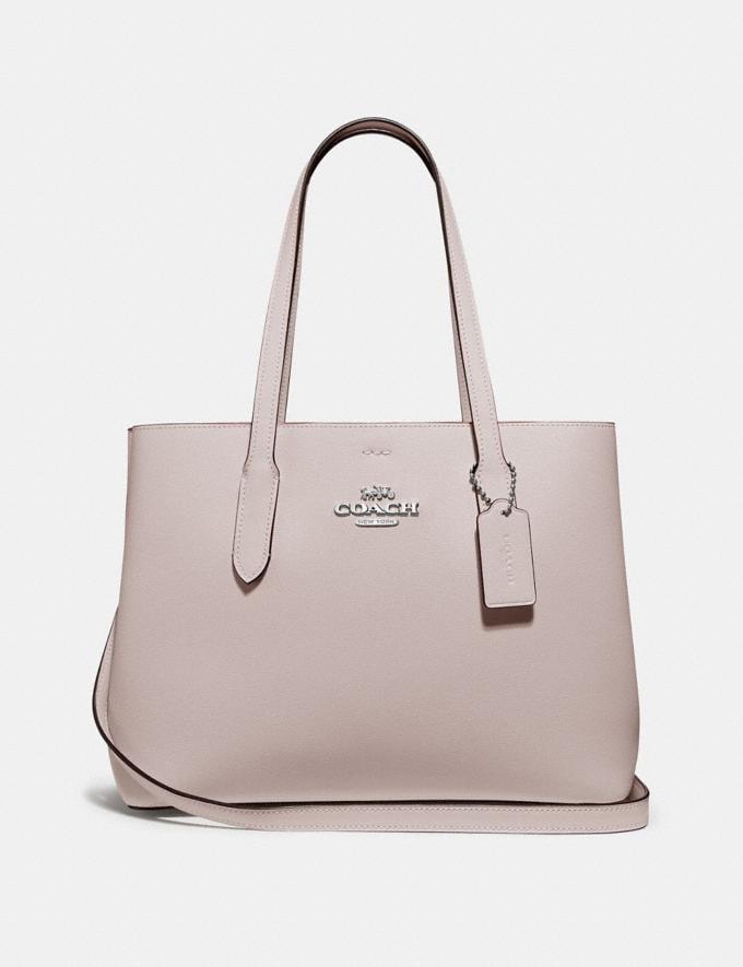 Coach Avenue Carryall Grey Birch/Midnight/Silver Women Business Essentials