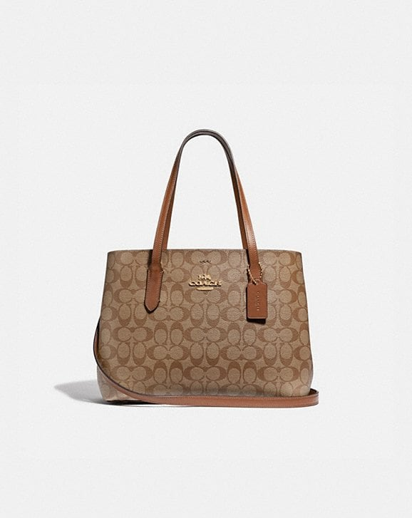 Coach AVENUE CARRYALL IN SIGNATURE CANVAS
