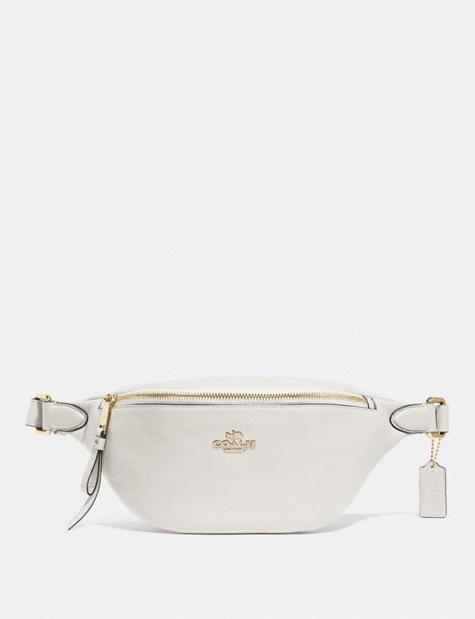 Coach Belt Bag Chalk/Imitation Gold