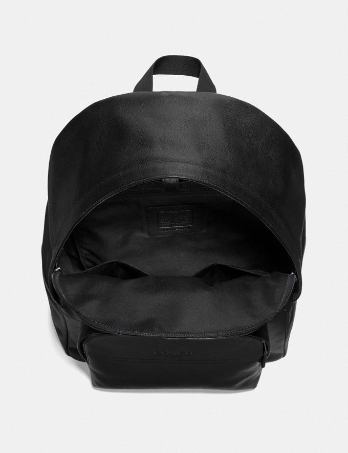 Coach Houston Backpack Black/Black Antique Nickel Explore Men Explore Men Travel Alternate View 1