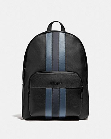 HOUSTON BACKPACK WITH VARSITY STRIPE