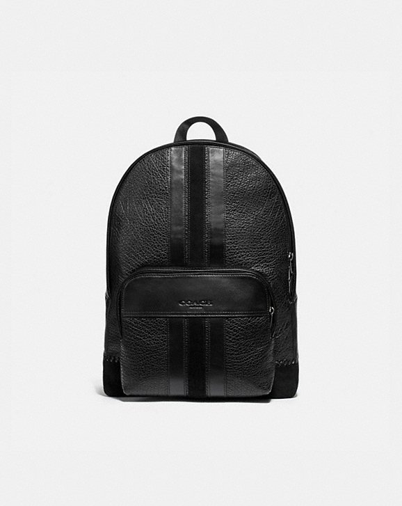 Coach HOUSTON BACKPACK WITH BASEBALL STITCH