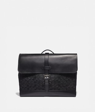 HUDSON MESSENGER IN SIGNATURE LEATHER
