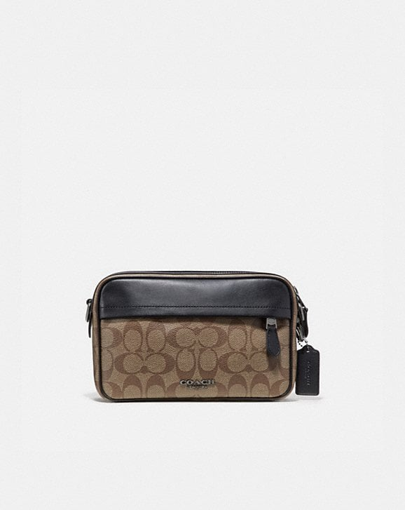 Coach GRAHAM CROSSBODY IN SIGNATURE CANVAS