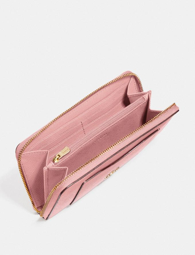 Coach Accordion Zip Wallet Im/Pink Petal Explore Women Explore Women Wallets Alternate View 1