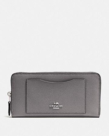 accordion zip wallet