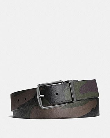 WIDE HARNESS CUT-TO-SIZE REVERSIBLE CAMO BELT