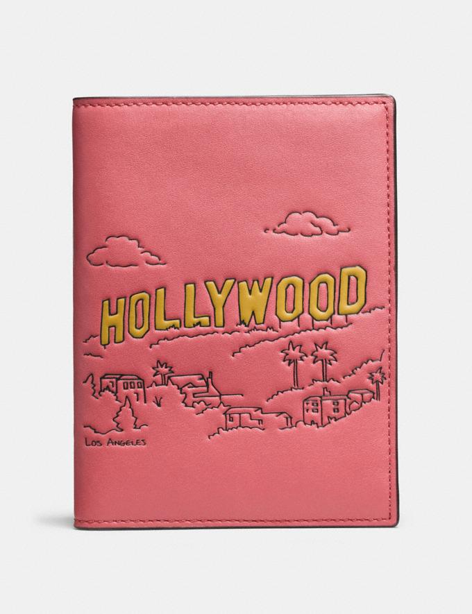 Coach Passport Case Los Angeles