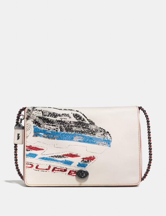 Coach Dinky 32 With Car Chalk/Black Copper Back In Stock Back In Stock Bags