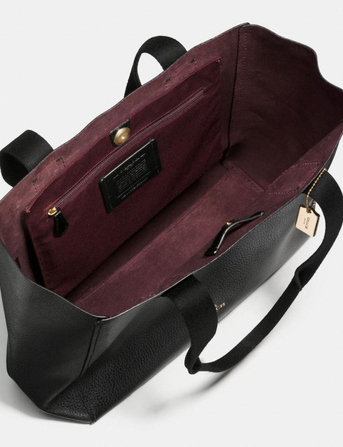 Coach Derby Tote Im/Black Oxblood 1 Deals Finds Under $100 Alternate View 1