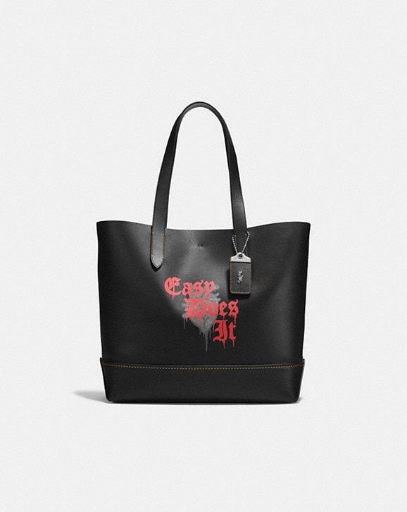 Coach GOTHAM TOTE WITH WILD LOVE PRINT