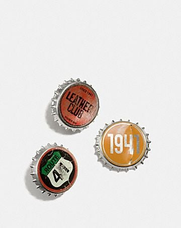 bottle cap pin box set