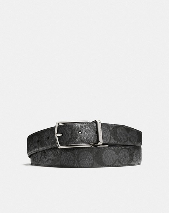 Coach MODERN HARNESS CUT-TO-SIZE REVERSIBLE BELT IN SIGNATURE CANVAS