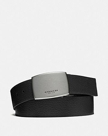 wide plaque cut-to-size reversible belt