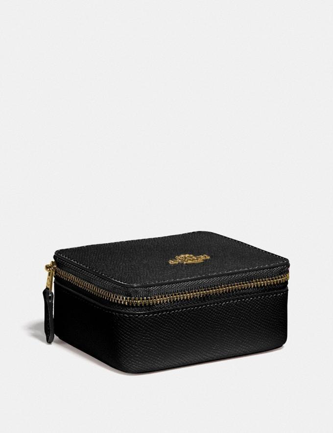 Coach Jewelry Box Black/Imitation Gold