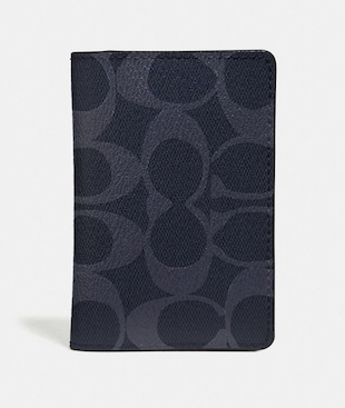 CARD WALLET IN SIGNATURE CANVAS