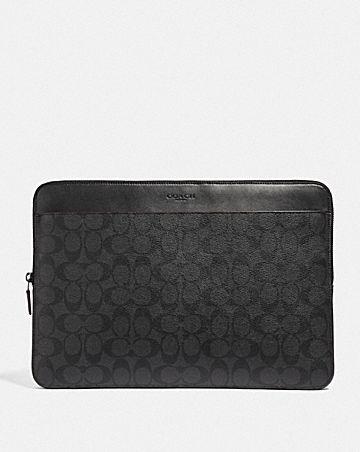 laptop case in signature canvas