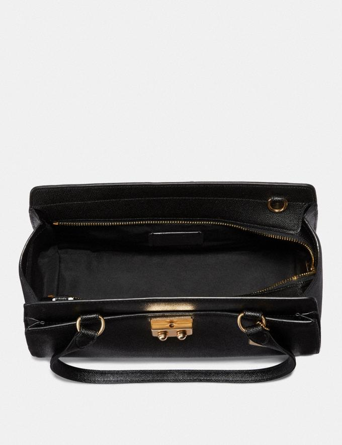Coach Avary Carryall Black/Light Gold Explore Bags Bags Business Bags Alternate View 1