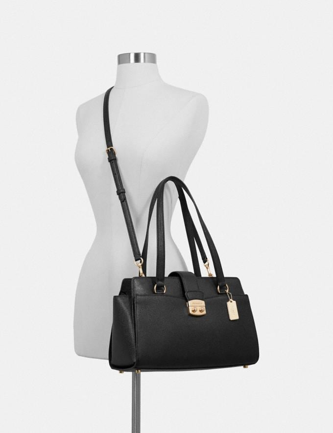 Coach Avary Carryall Black/Light Gold Explore Bags Bags Business Bags Alternate View 2