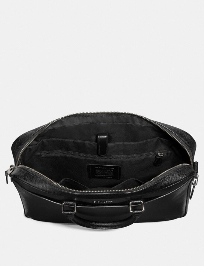 Coach Beckett Slim Brief Black  Alternate View 1