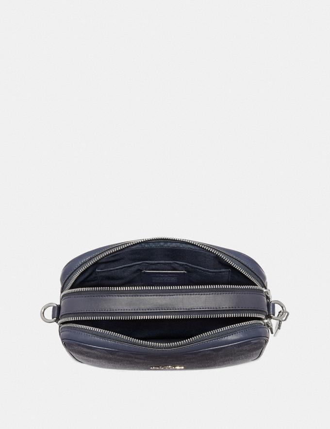 Coach Jes Crossbody in Signature Canvas Denim/Silver Explore Bags Bags Crossbody Bags Alternate View 1