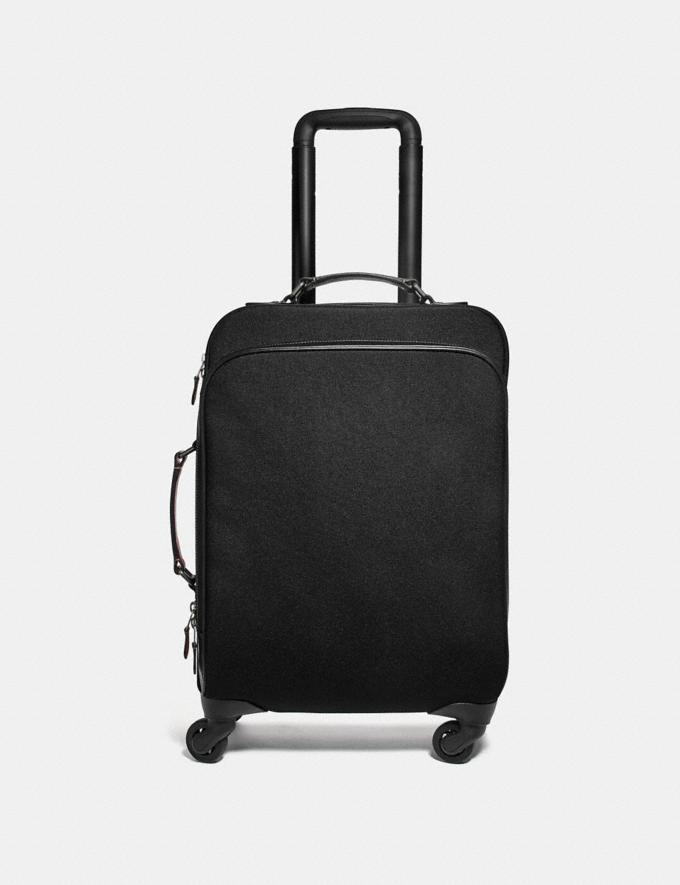 Coach Wheeled Carry on Black