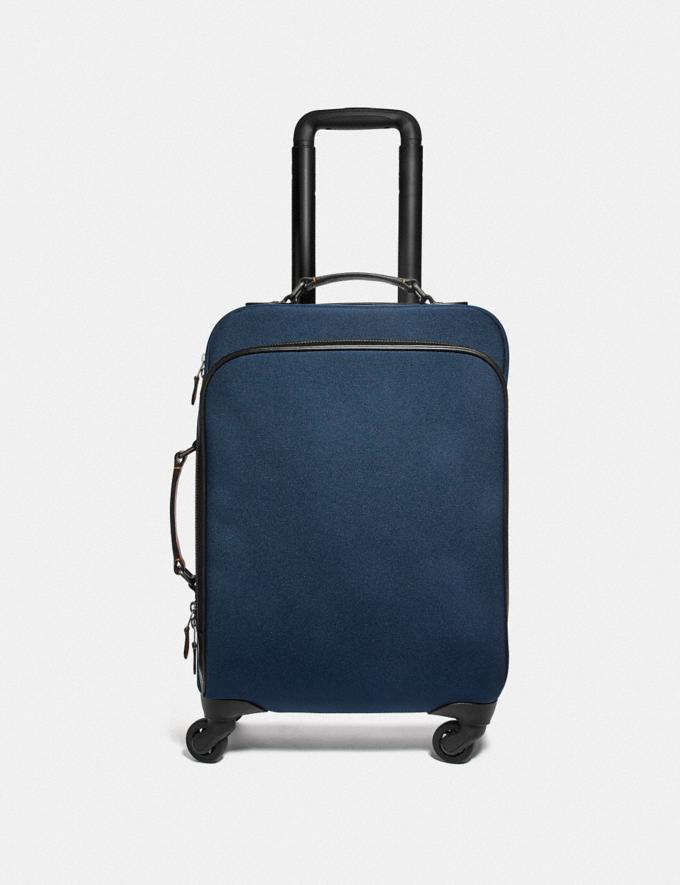Coach Wheeled Carry on Bright Navy Explore Men Explore Men Travel