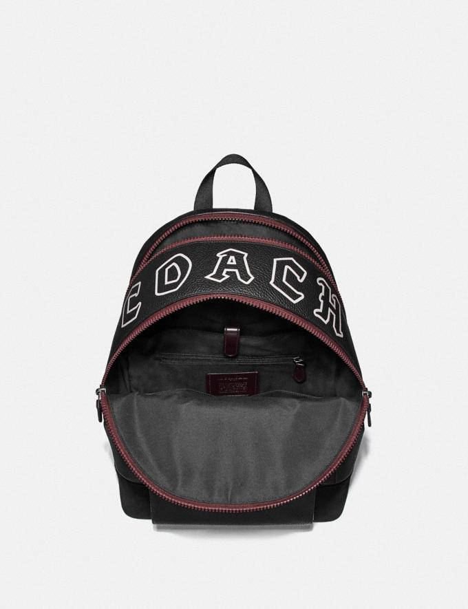 Coach West Backpack With Gothic Coach Script Black  Alternate View 1