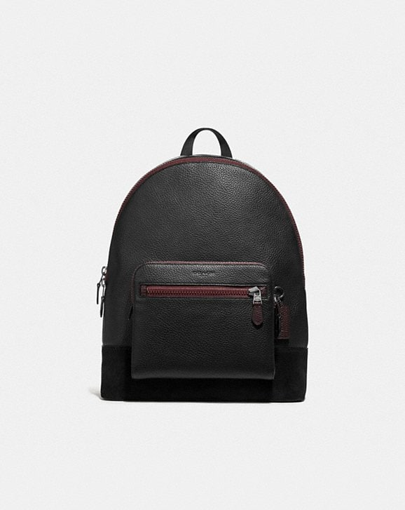 Coach WEST BACKPACK WITH GOTHIC COACH SCRIPT