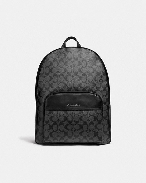Coach HOUSTON BACKPACK IN SIGNATURE CANVAS