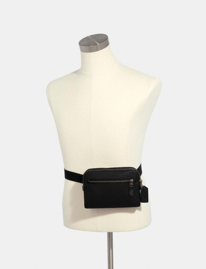 Coach West Belt Bag Qb/Black Explore Men Explore Men Travel Alternate View 2