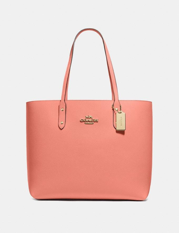 Coach Town Tote Light Coral/Imitation Gold Explore Bags Bags Business Bags