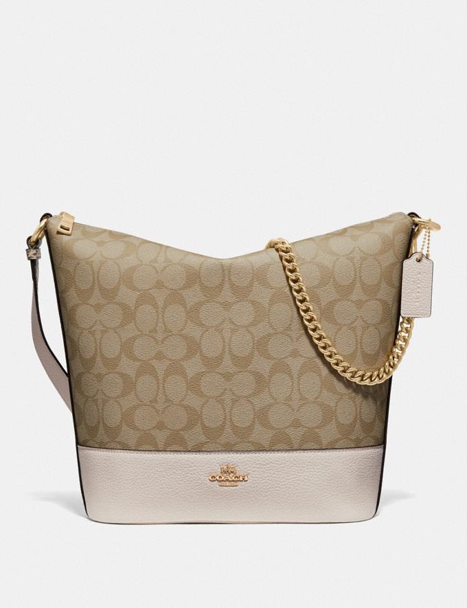 Coach Paxton Duffle in Signature Canvas Light Khaki/Chalk/Gold Explore Bags Bags Shoulder Bags