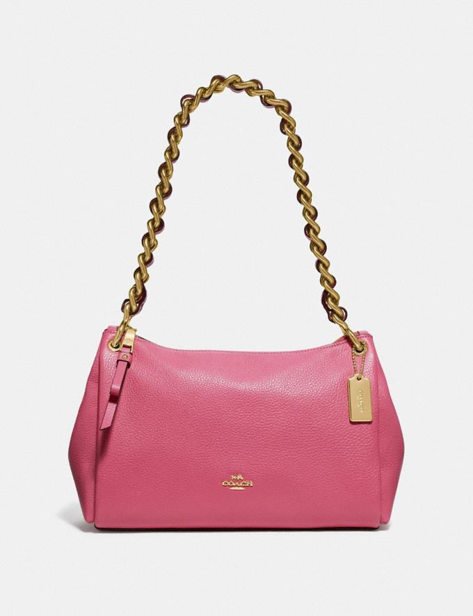 Coach Small Mia Shoulder Bag Chalk/Gold