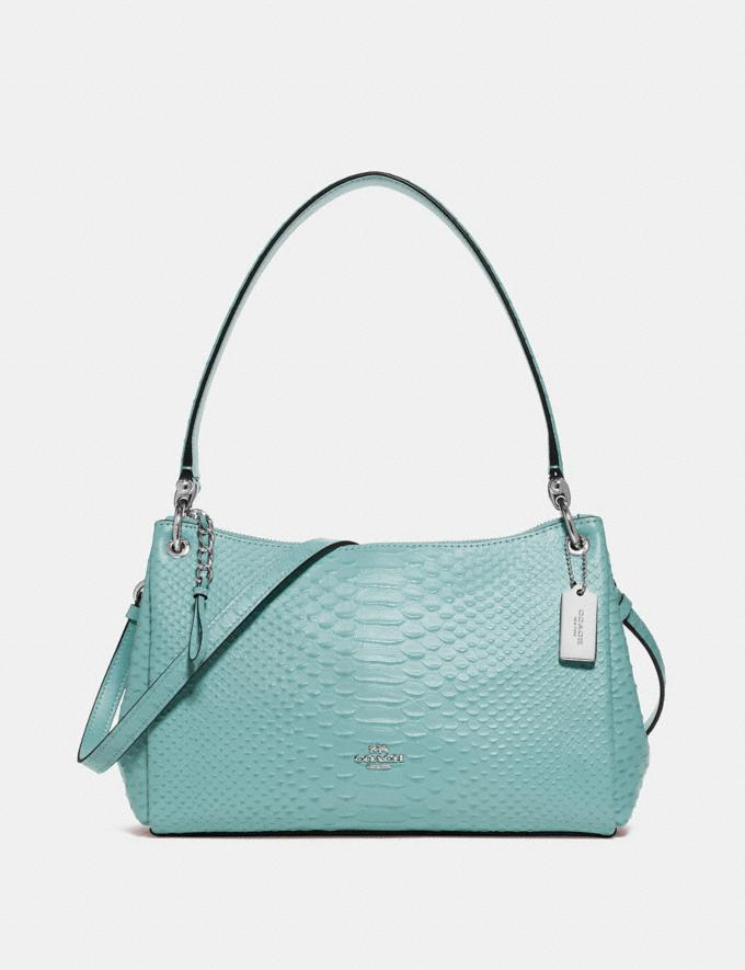 Coach Small Mia Shoulder Bag Seafoam/Silver Explore Bags Bags Shoulder Bags