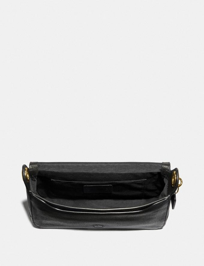 Coach Jes Messenger Black/Gold  Alternate View 1