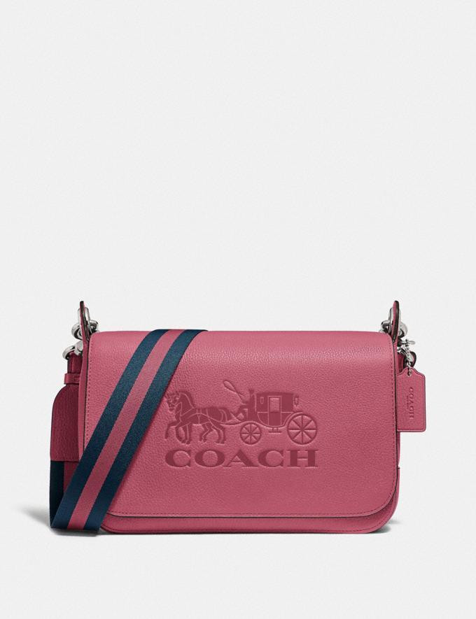 Coach Jes Messenger Rouge/Silver