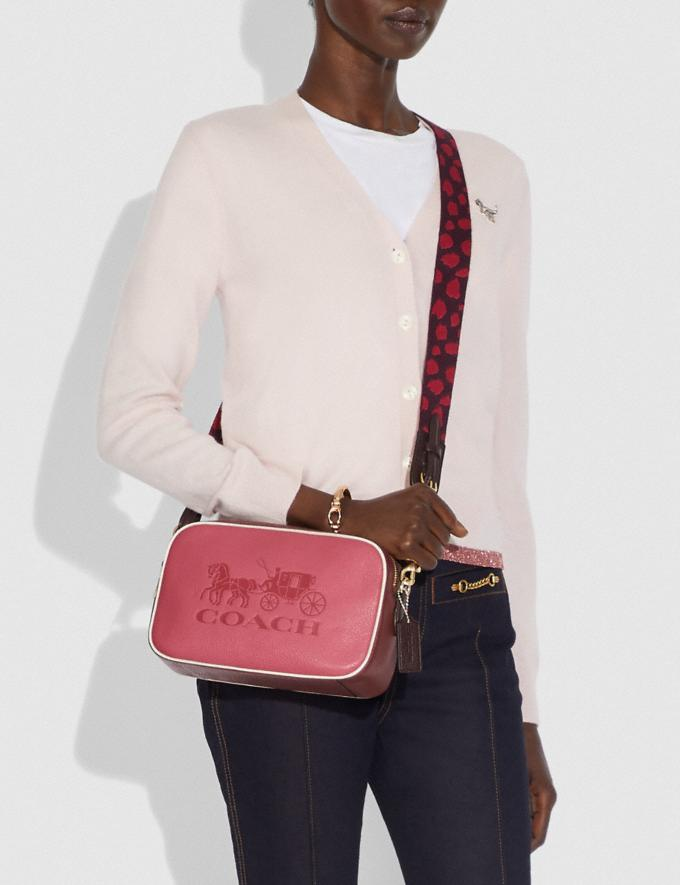 Coach Jes Crossbody in Colorblock Chalk Explore Bags Bags Crossbody Bags Alternate View 2