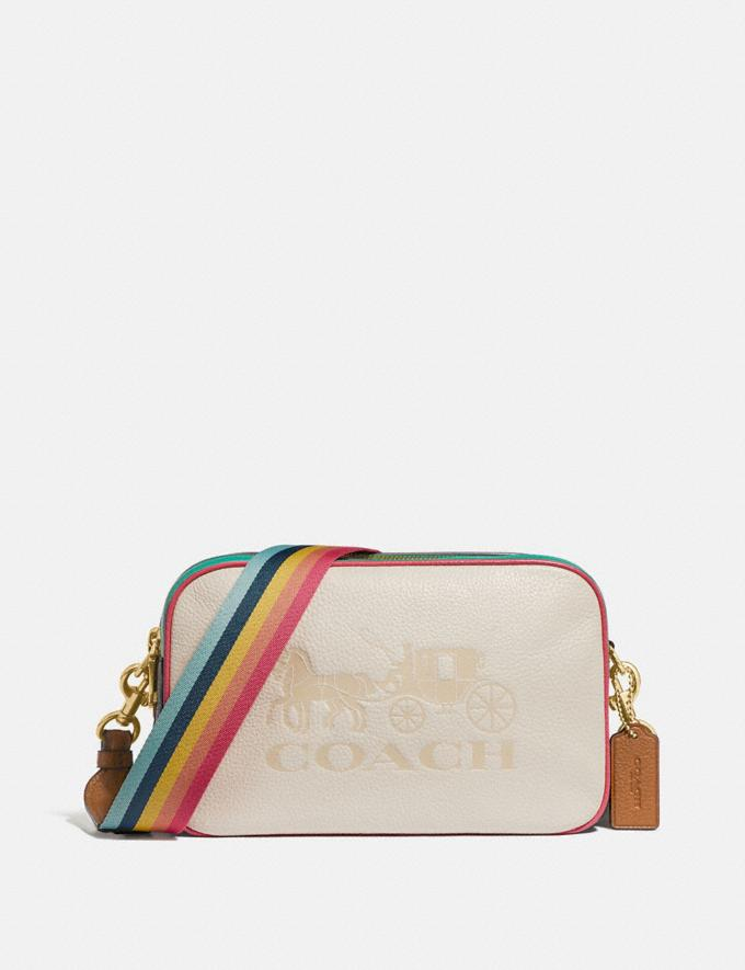 Coach Jes Crossbody in Colorblock Chalk Explore Bags Bags Crossbody Bags