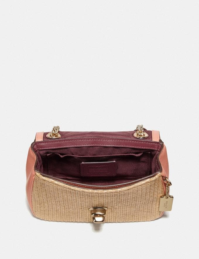 Coach Mini Cassidy Crossbody Natural Light Coral/Gold Explore Bags Bags New Arrivals Alternate View 1