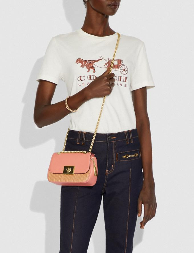 Coach Mini Cassidy Crossbody Natural Light Coral/Gold Explore Bags Bags New Arrivals Alternate View 2